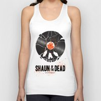 shaun of the dead Tank Tops featuring Shaun of the dead by Wharton