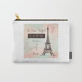 Coordinates Paris Carry-All Pouch