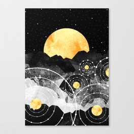 Stars of the galaxy Canvas Print