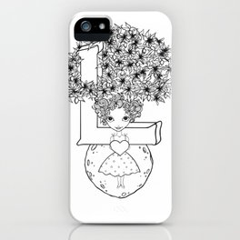 The Letter L iPhone Case