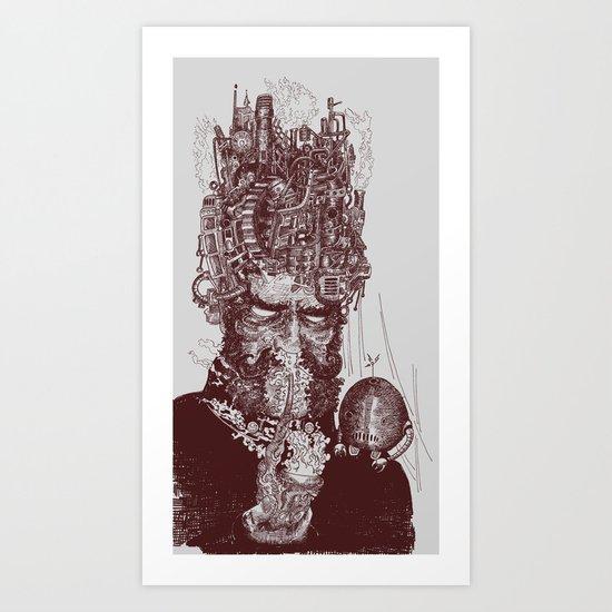 Franz Joseph Hulihee Art Print