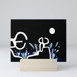 The Comb of the Wind   San Sebastian Mini Art Print