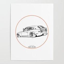 Crazy Car Art 0225 Poster