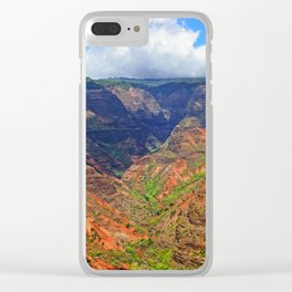Grand Canyon of the Pacific Clear iPhone Case