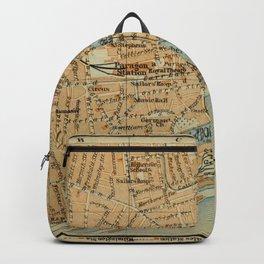 Vintage Hull England Map (1910) Backpack