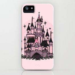 The Magical Goth Castle iPhone Case