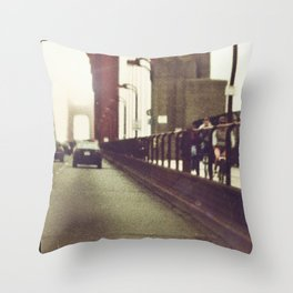 Routine Crossings Throw Pillow