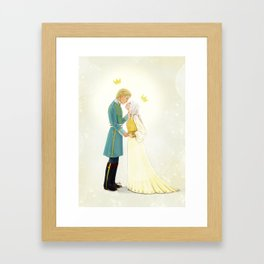 Nikolai and Alina Framed Art Print