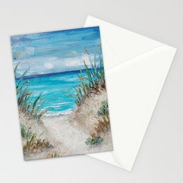 Sea Path Stationery Cards
