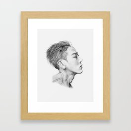 CheolJun Framed Art Print
