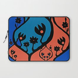 non-repeat florals Laptop Sleeve