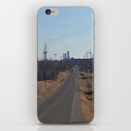The Road To Tulsa iPhone Skin