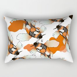 Koi Meditation Rectangular Pillow