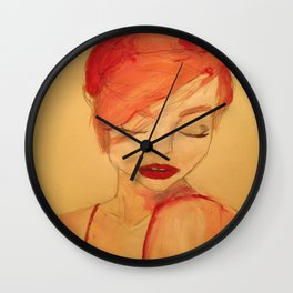 Joan Holloway Inspired Wall Clock