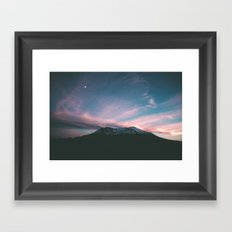 Mount Saint Helens III Framed Art Print