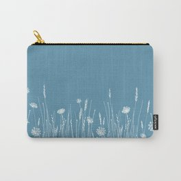 Blue Meadow up close Carry-All Pouch