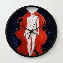 Lunatic Stars Wall Clock
