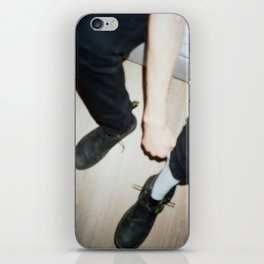 Lace Up iPhone Skin