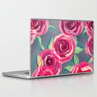 roses Laptop & iPad Skins featuring roses by Vita♥G
