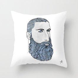 BEARD OMAR Throw Pillow