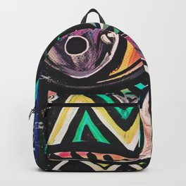 Under Construction Abstract Painting Backpack