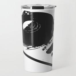 Vinyl is forever print Travel Mug