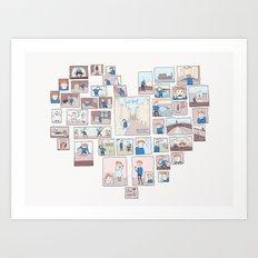 Find Heart Art Print