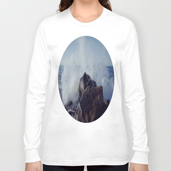 Make mine with a splash of water on the rocks Long Sleeve T-shirt
