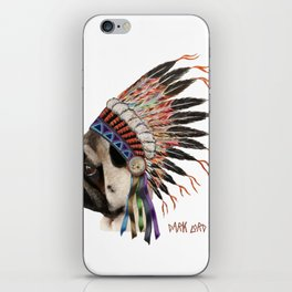 Great Spirit of the Pug iPhone Skin