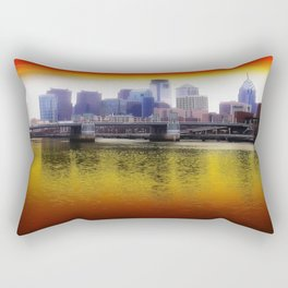 Philly Reflects Rectangular Pillow