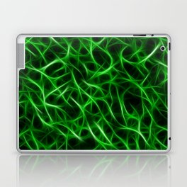 Camouflage Psychedelic Green Laptop & iPad Skin