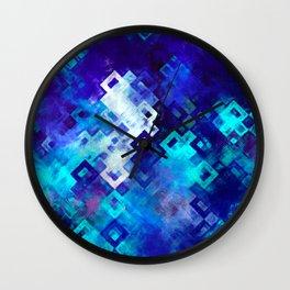 rectangle impressionism Wall Clock