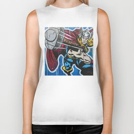 The Mighty Thor Biker Tank