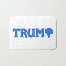 """""""Trump-Thumbs Down"""" Bath Mat"""