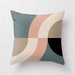 Contemporary Composition 33 Throw Pillow