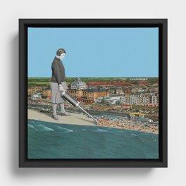 Summer is over! Framed Canvas
