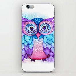 Owl. iPhone Skin