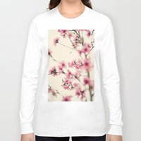 sakura Long Sleeve T-shirts featuring Sakura by Laura Ruth