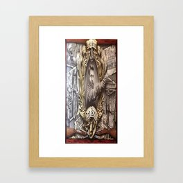 Ned Kelly (The Last Stand) Framed Art Print