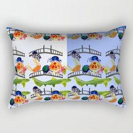 Sharks & Jellies Rectangular Pillow