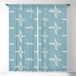 Nautical Star  light Blue #homedecor Blackout Curtain