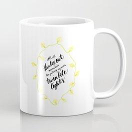 You've Got Mail- Twinkle Lights Coffee Mug