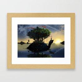 Summer Adventures Framed Art Print