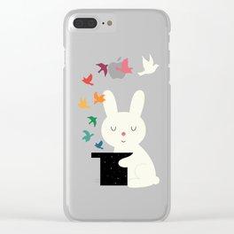 Magic Of Peace Clear iPhone Case