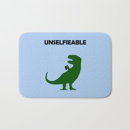 Unselfieable T-Rex Bath Mat