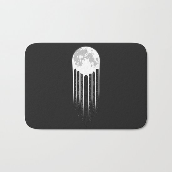 Moon-City Bath Mat