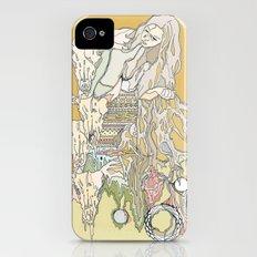 hair, wood, bones iPhone (4, 4s) Slim Case