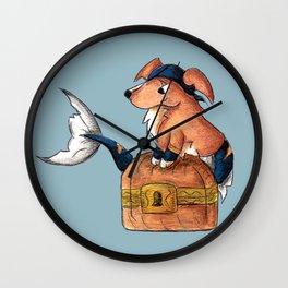 Treasure Retriever Wall Clock