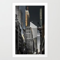 New york / Buildings Art Print