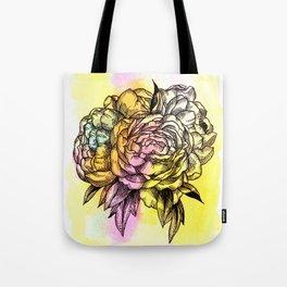 Plant Series: Peony Tote Bag